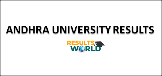 ANDHRA-UNIVERSITY-RESULTS